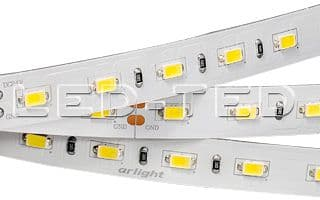 Лента 24V 12mm 60 LED/m 17,2W/m 5630 RT 2-5000 2xH LUX Arlight