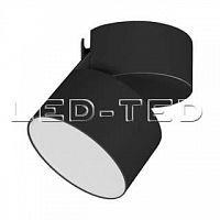 Картинка Светильник SP-RONDO-FLAP-R95-16W Warm3000 BK 110 deg 028158 от интернет-магазина led-ted.ru