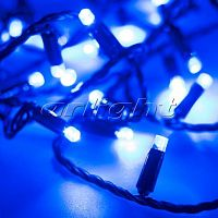 Фото Гирлянда Нить ARD-STRING-CLASSIC-10000-BLACK-100LED-STD BLUE 230V, 7W 025802