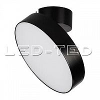 Картинка Светильник SP-RONDO-FLAP-R250-30W Warm3000 BK 110 deg 028172 от интернет-магазина led-ted.ru