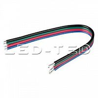 Картинка Шлейф RGB-20AWG-L120mm-4pin 022358 от интернет-магазина led-ted.ru