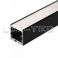 Картинка Профиль SL-ARC-3535-LINE-2500 BLACK 025519 Arlight от интернет-магазина led-ted.ru