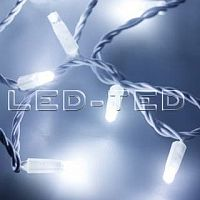 Фото Гирлянда Нить ARD-STRING-CLASSIC-10000-WHITE-100LED-FLASH WHITE 230V, 7W 025812