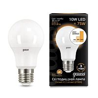 Лампа A60 10W E27 Step Dimmable Gauss