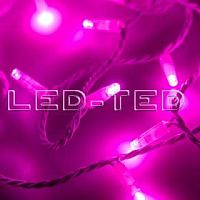 Фото Гирлянда Нить ARD-STRING-CLASSIC-10000-WHITE-100LED-FLASH PINK 230V, 7W 025822