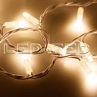 Фото Гирлянда Нить ARD-STRING-CLASSIC-10000-WHITE-100LED-FLASH WARM 230V, 7W 025810