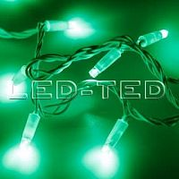 Фото Гирлянда Нить ARD-STRING-CLASSIC-10000-WHITE-100LED-FLASH GREEN 230V, 7W 025816